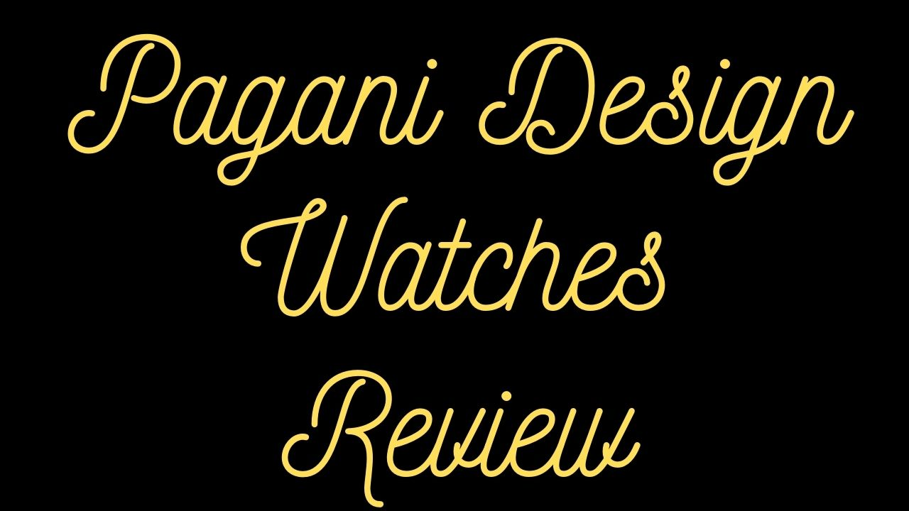 pagani design watches review